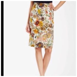 Catherine Malandrino skirt floral size 10
